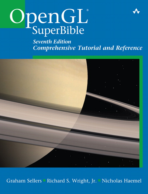Cover image of OpenGL SuperBible 7th Edition
